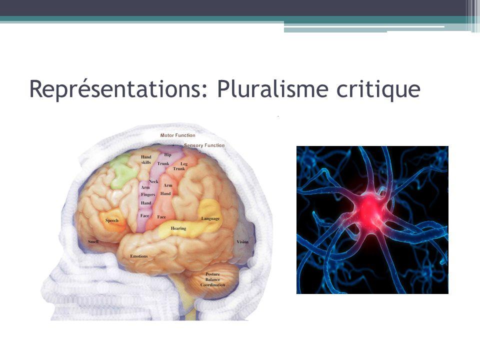Représentations: Pluralisme critique
