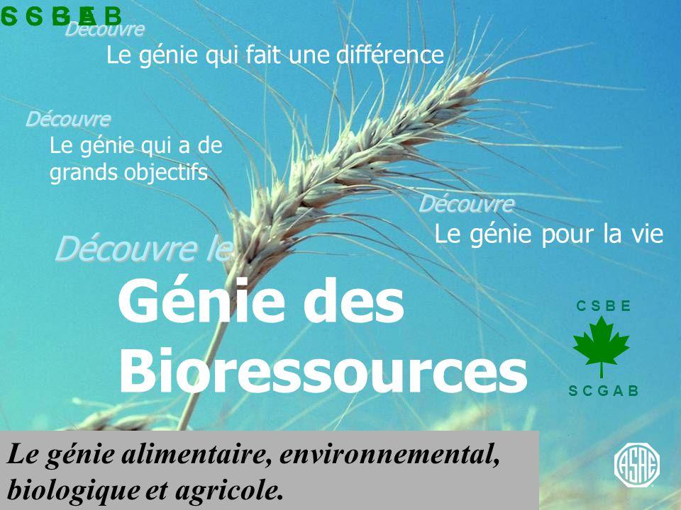 C S B E S C G A B Structures & Environnement Développer un environnement sain pour les ressources biologiques Habitat animal Entreposage de grains Entreposage, réutilisation, recyclage et transport de déchets Systèmes climatiques, systèmes de ventilation et systèmes de control des maladies