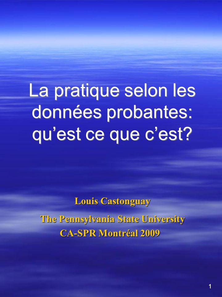 Atteindre le consensus Juin, 2003 – réunion des représentants des chapitres.