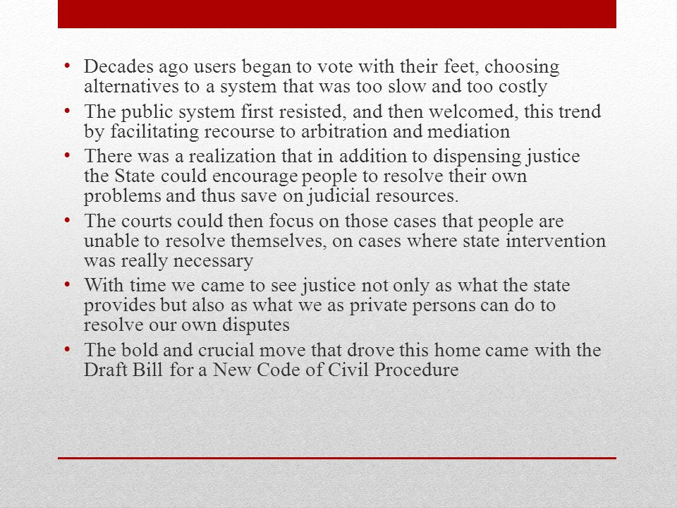 Ordre public Ajout à larticle 2 en Comité législatif: Les parties sont en outre tenues dans leurs démarches et ententes de respecter les droits et libertés de la personne et les autres règles dordre public.