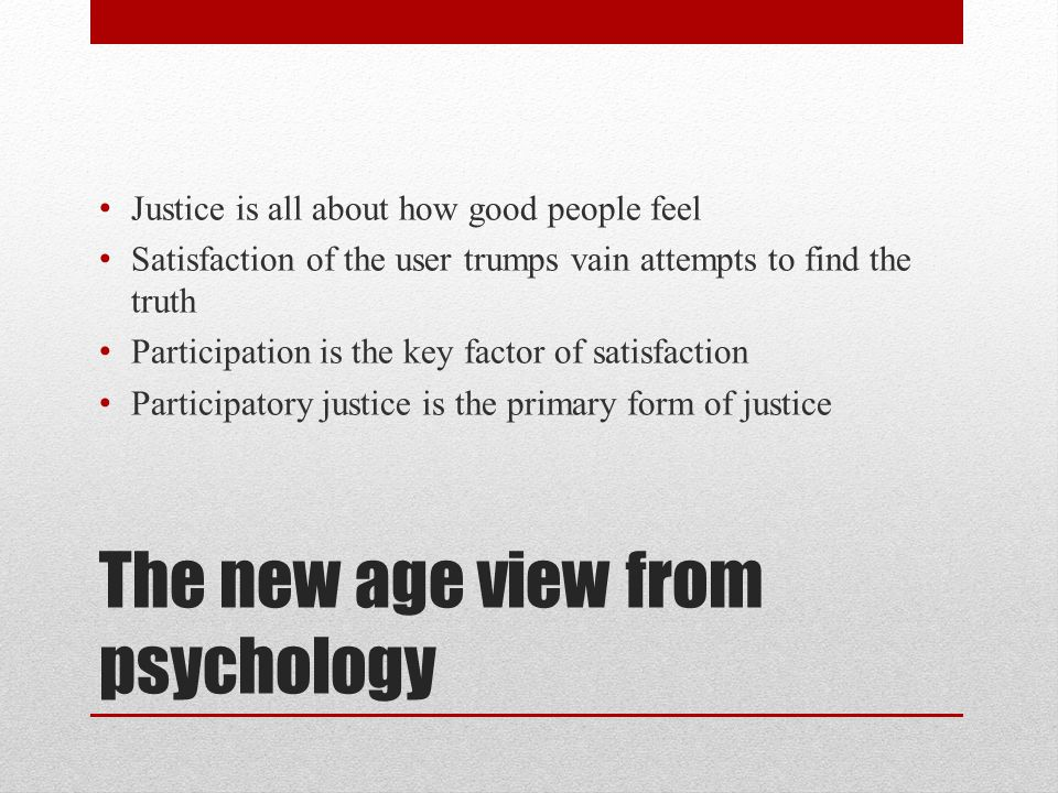 The neo-liberal view People should take care of themselves Party autonomy should rule procedure as well as substance in law If people want assistance, let them go to a mediator or an arbitrator (and pay for it) The State should ultimately withdraw from the business of civil justice services and focus on matters of public law and policy, where it is needed