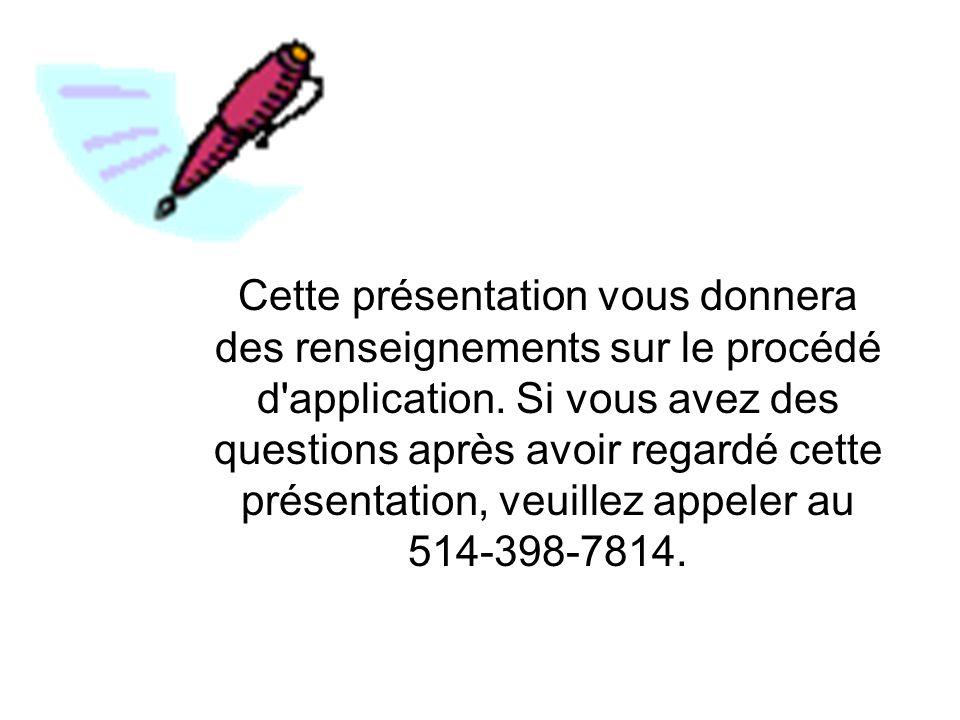 Cliquez Français pour commencer