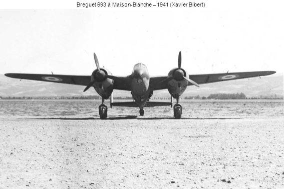 Breguet 693 à Maison-Blanche – 1941 (Xavier Bibert)