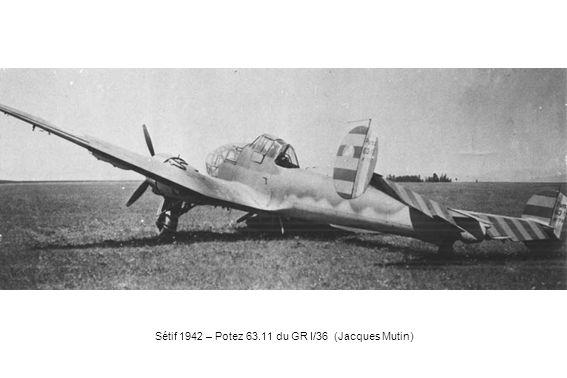 Sétif 1942 – Potez 63.11 du GR I/36 (Jacques Mutin)