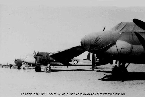 La Sénia, août 1940 – Amiot 351 de la 19 ème escadre de bombardement (Lacouture)