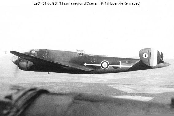LeO 451 du GB I/11 sur la région d'Oran en 1941 (Hubert de Kermadec)