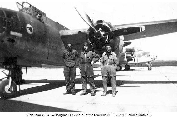 Blida, mars 1942 – Douglas DB 7 de la 2 ème escadrille du GB II/19 (Camille Mathieu)