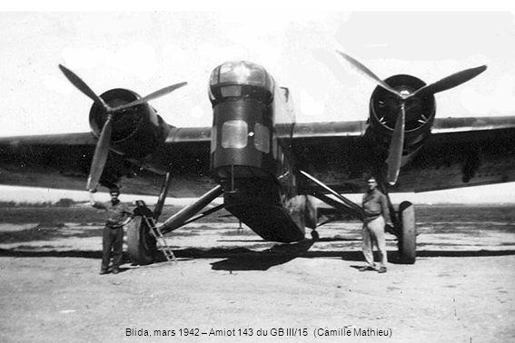 Blida, mars 1942 – Amiot 143 du GB III/15 (Camille Mathieu)