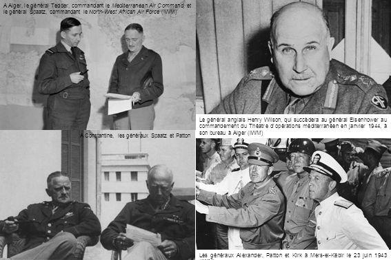 Un Malcolm Club destiné au personnel de la RAF est ouvert à Alger le 25 juin 1943, comme dans dautres grandes villes au Maroc, puis en Italie (IWM) Le général Tedder au Malcolm Club le 24 juin 1943 (IWM)