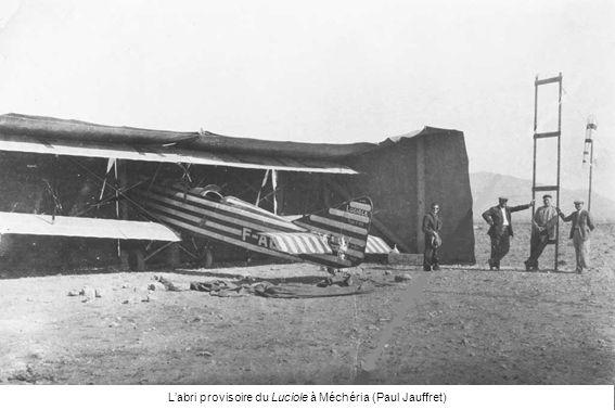 Labri provisoire du Luciole à Méchéria (Paul Jauffret)