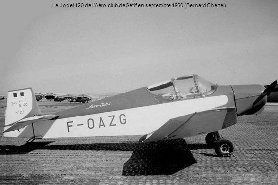 Le Jodel 120 de lAéro-club de Sétif en septembre 1960 (Bernard Chenel)