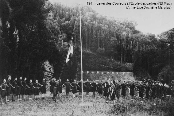 La Sénia 1941 – Camille Mathieu devant un Caudron C 635 Simoun (Camile Mathieu)
