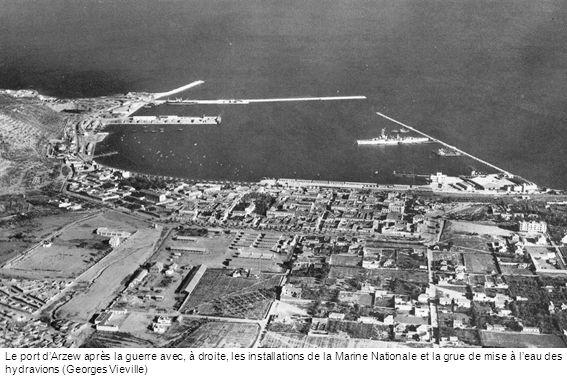 En septembre 1941, inauguration à Maison-Blanche de lavenue Commandant Dagnaux.