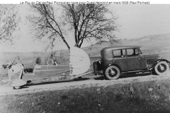 Le Pou du Ciel de Paul Poinsot en route pour Oued-Hamimin en mars 1938 (Paul Poinsot)