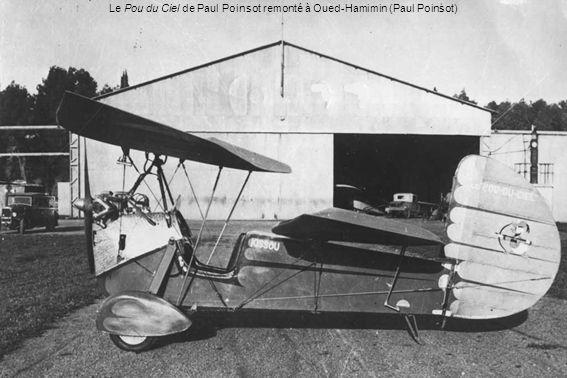 Le Pou du Ciel de Paul Poinsot remonté à Oued-Hamimin (Paul Poinsot)