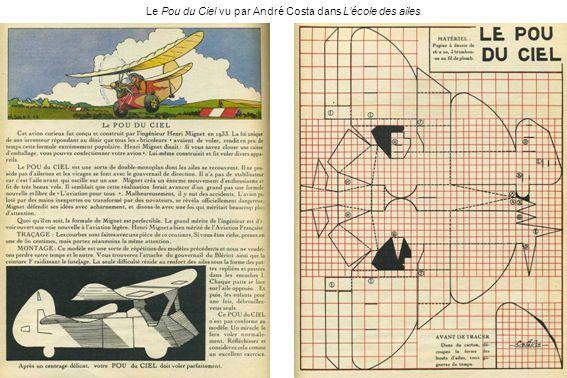 Le Pou du Ciel vu par André Costa dans Lécole des ailes