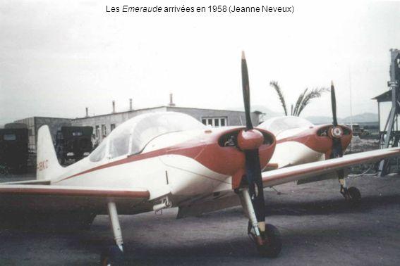 Les Emeraude arrivées en 1958 (Jeanne Neveux)