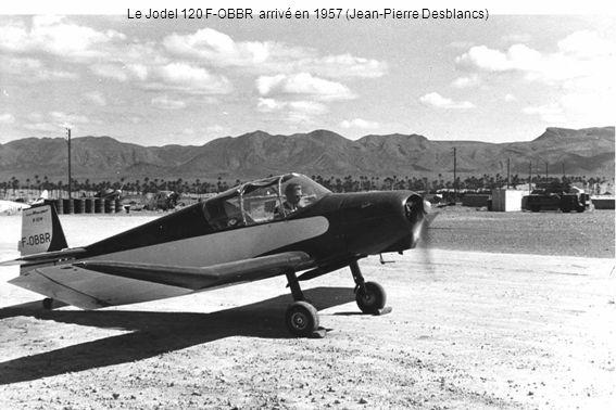 Le Jodel 120 F-OBBR arrivé en 1957 (Jean-Pierre Desblancs)