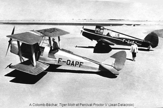 A Colomb-Béchar, Tiger Moth et Percival Proctor V (Jean Delacroix)