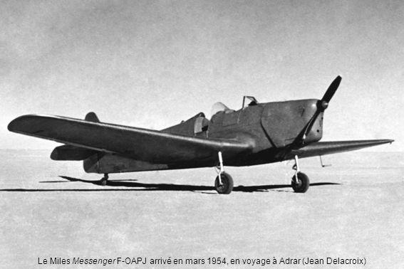 En 1959, Jean-Pierre Desblancs et le Tiger Moth réparé après laccident de juillet 1958 (Jean-Pierre Desblancs)