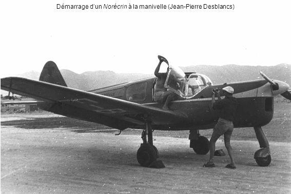 Lucien Laurie et le Klemm L 25 F-PAAE arrivé en juillet 1947 (Lucien Laurie)