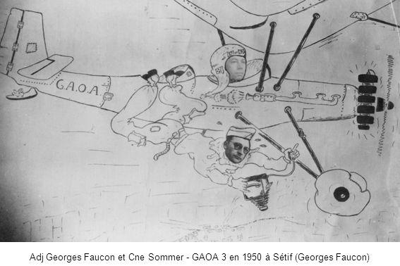 1er PMAH 4ème DIM - Détachement dAflou en 1958 - MdL Millot et Le Mer (Georges Le Mer)