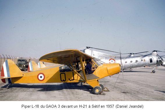 Nord 3400 du PMAH ZNA sur la région de Chéragas en 1961 (Marcel Vervoort)