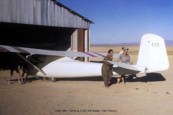 Juillet 1954 – Sortie du C 800 à El-Aouedj (Henri Deloupy)