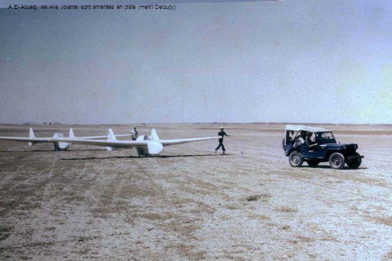 A El-Aouedj, les Aile Volante sont amenées en piste (Henri Deloupy)