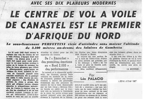 LEcho dOran 1957
