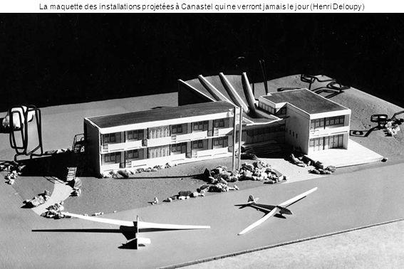 La maquette des installations projetées à Canastel qui ne verront jamais le jour (Henri Deloupy)