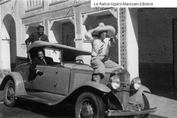 Le Rallye Algéro-Marocain à Biskra (STANAVO)