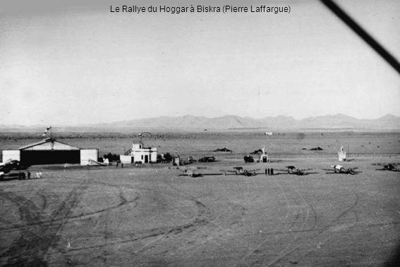Le Rallye du Hoggar à Biskra (Pierre Laffargue)
