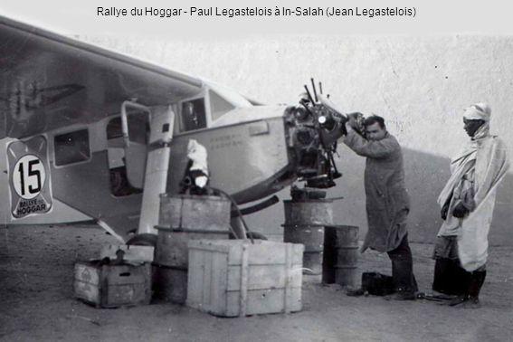 Rallye du Hoggar - Paul Legastelois à In-Salah (Jean Legastelois)