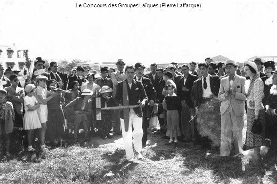 Le Concours des Groupes Laïques (Pierre Laffargue)