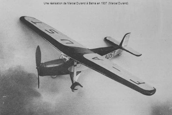 Une réalisation de Marcel Durand à Batna en 1937 (Marcel Durand)