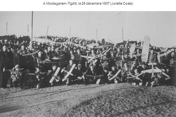 A Mostaganem-Tigditt, le 26 décembre 1937 (Juliette Costa)