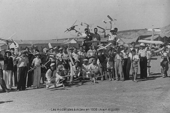 Les modélistes à Arzew en 1938 (Alain Algudo)