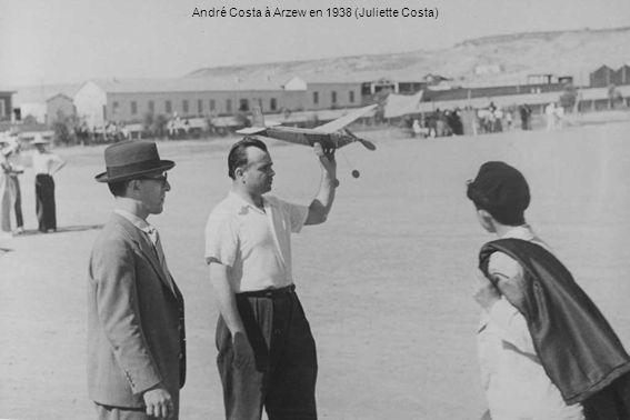 André Costa à Arzew en 1938 (Juliette Costa)