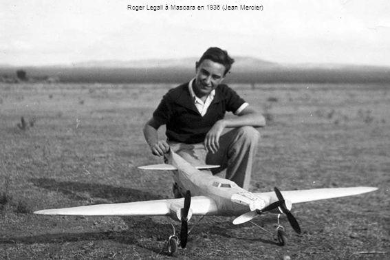 Roger Legall à Mascara en 1936 (Jean Mercier)