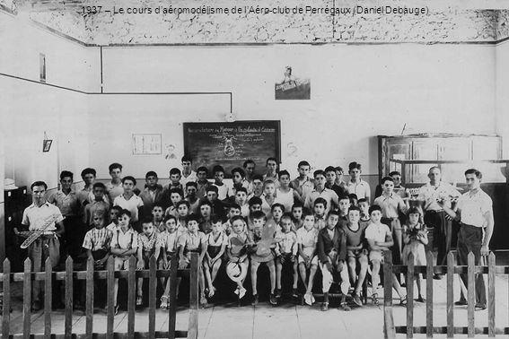 1937 – Le cours daéromodélisme de lAéro-club de Perrégaux (Daniel Debauge)