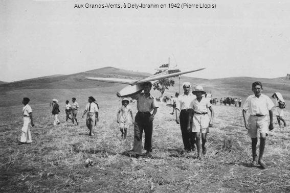 Aux Grands-Vents, à Dely-Ibrahim en 1942 (Pierre Llopis)