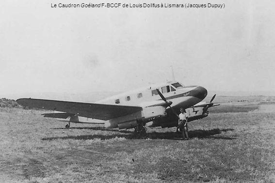 Le Caudron Goéland F-BCCF de Louis Dollfus à Lismara (Jacques Dupuy)