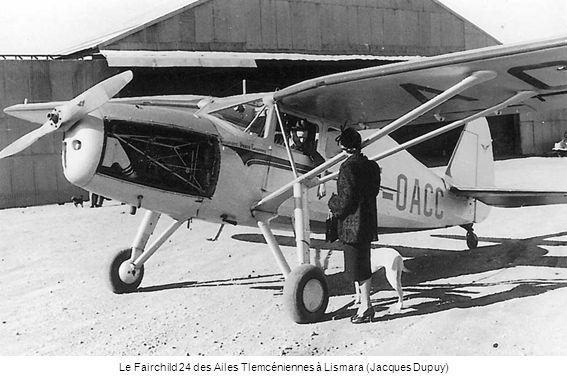 Le Fairchild 24 des Ailes Tlemcéniennes à Lismara (Jacques Dupuy)