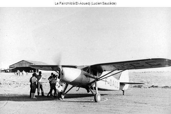 Le Fairchild à El-Aouedj (Lucien Saucède)