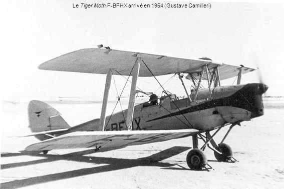 Le Tiger Moth F-BFHX arrivé en 1954 (Gustave Camilieri)