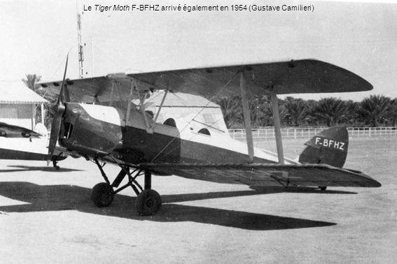 Le Tiger Moth F-BFHZ arrivé également en 1954 (Gustave Camilieri)