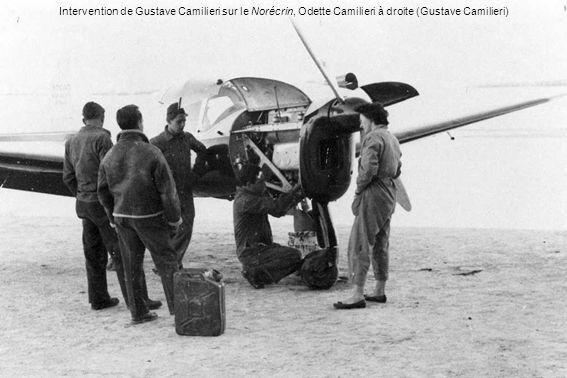 Intervention de Gustave Camilieri sur le Norécrin, Odette Camilieri à droite (Gustave Camilieri)