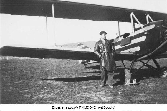 Dides et le Luciole F-AMDO (Ernest Boggio)