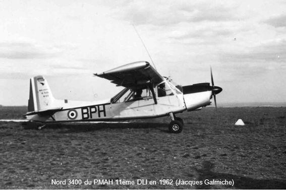 Nord 3400 du PMAH 11ème DLI en 1962 (Jacques Galmiche)